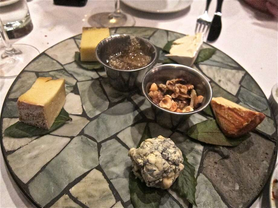 A cheese plate from Cafe Rabelais. Photo: Alison Cook