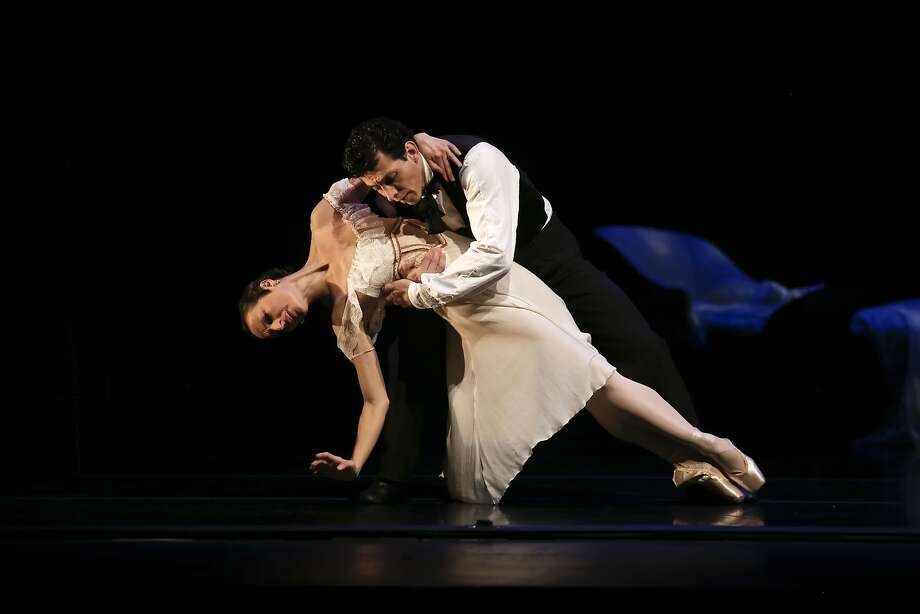 "Tina Kay Bohnstedt and David Fonnegra in ""Lady of the Camellias."" Photo: Michael Macor, The Chronicle"