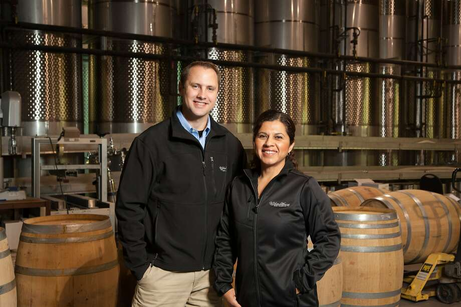 Laura Orozco of V. Sattui Winery and Peter Velleno of Castello di Amorosa were both promoted to winemaker.