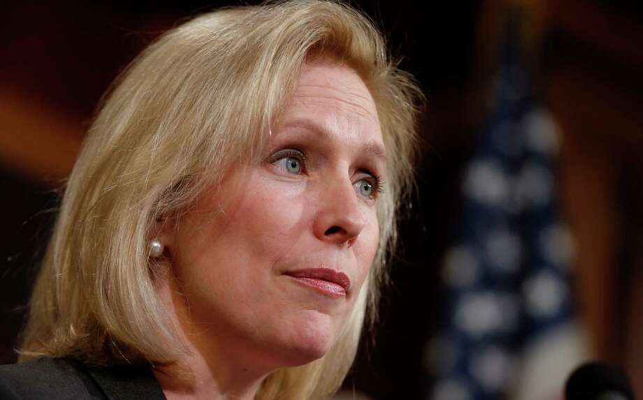 "In her new book, Sen. Kirsten Gillibrand, D-N.Y., reveals that she often has had to deal with sexist remarks from fellow lawmakers, who seem to have ""no clue"" that their remarks are inappropriate. Photo: Charles Dharapak, STF / AP"