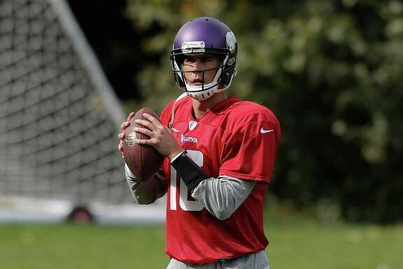 Quarterback Matt Cassel's future likely is as a starter in Minnesota rather than a backup for the Texans.