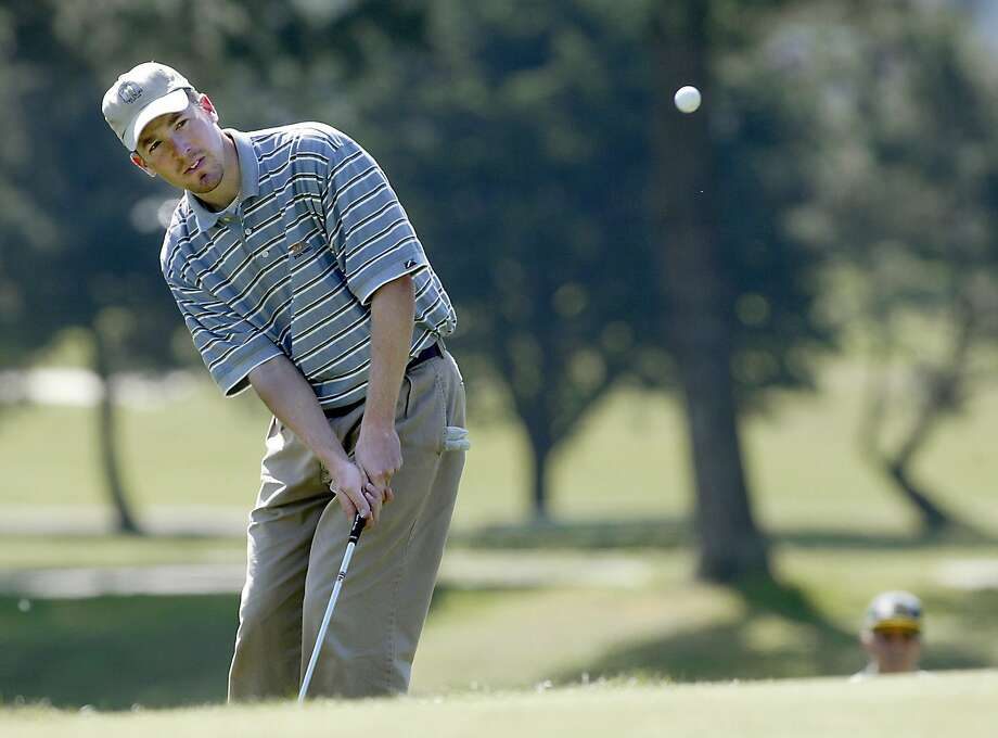 Rick Reinsberg, shown in 2003, is the oldest player in the semis. Photo: Brant Ward, BRANT WARD