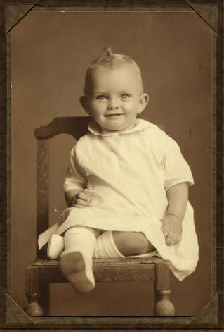 Leon Hale as an infant. He was born May 30, 1921. Photo: None