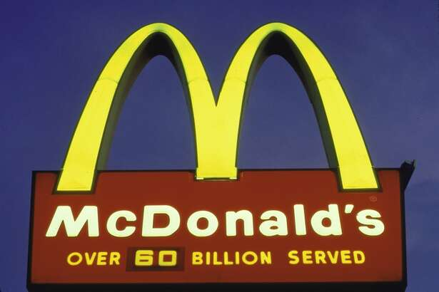 Shaq was named to the McDonald's All-American team in 1989 for his play at Cole, and in 2012, was named one of the 35 Greatest McDonald's All-Americans. PHOTO: A McDonald's sign boasting over 60 billion served under their trademark golden arches in 1987.