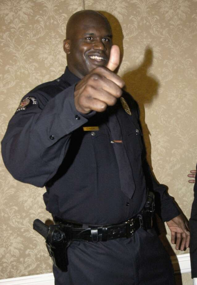 Shaq has an interest in law enforcement, and is a reserve officer with the Los Angeles Port Police, an honorary U.S. Deputy Marshal and a Miami Beach reserve officer.PHOTO: Athlete and Los Angeles Port Police Officer Shaquille O'Neal gives the thumbs up at the Conference of the International Association of Airport and Seaport Police Gala on May 29, 2003, in Los Angeles. Photo: Dan Steinberg, Getty Images
