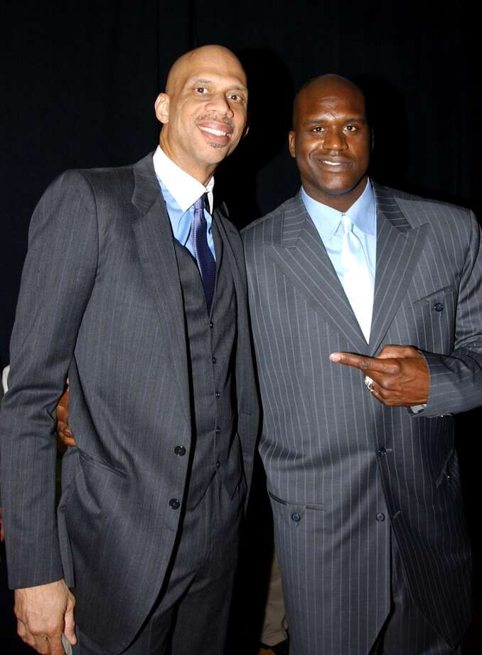 With 28,596, Shaq is sixth in the NBA in career points, behind Kareem Abdul-Jabbar, Karl Malone, Michael Jordan, Kobe Bryant and Wilt Chamberlain.PHOTO: 