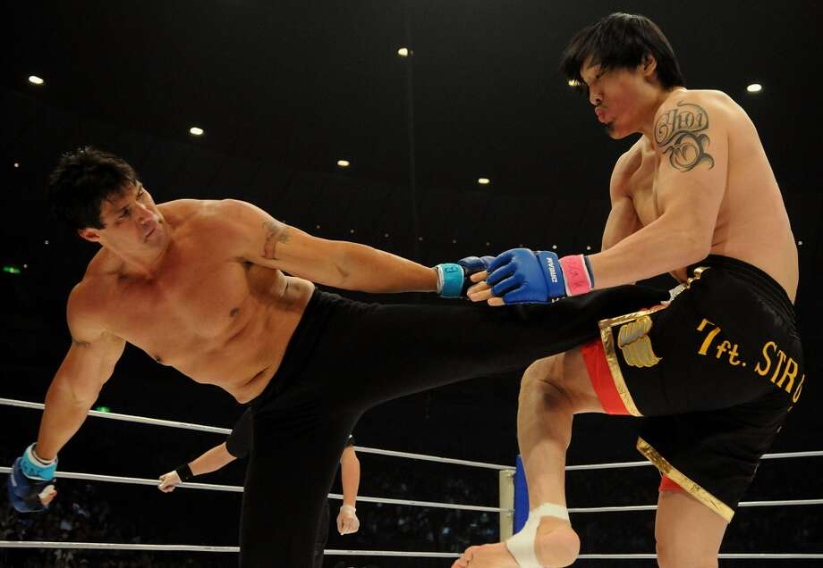 Shaq got into mixed martial arts in 2000, and has challenged kickboxer Choi Hong-man to a match at least twice, most recently in 2010.
