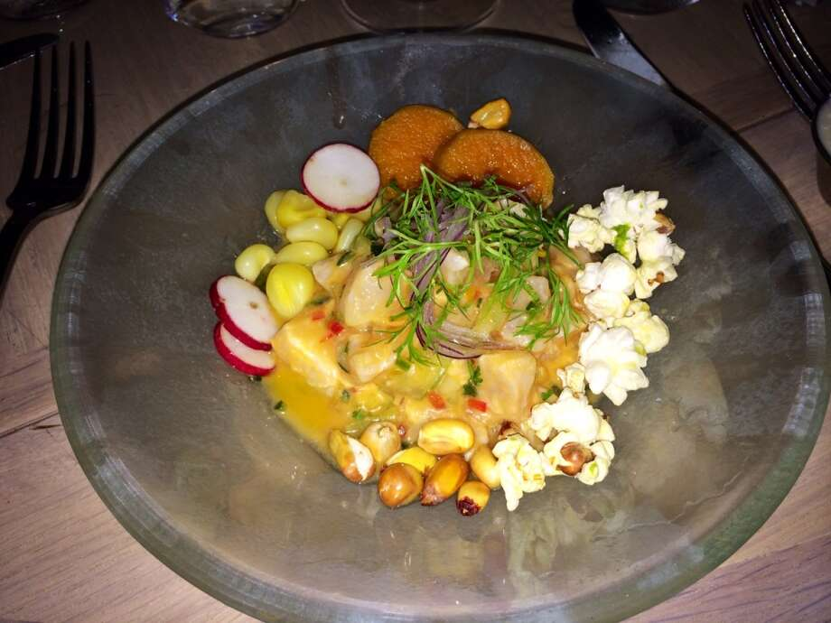 Corvina ceviche at the Dutch in South Beach  ($17)