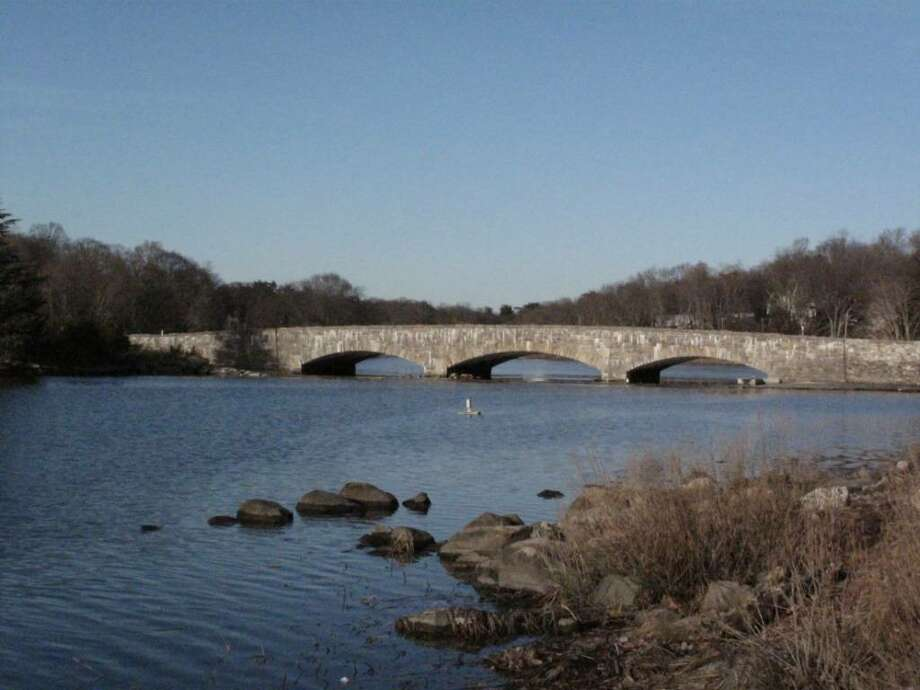 The bridge at Rings End landing as it has stood since 1930. Photo: Maggie Gordon / Darien News