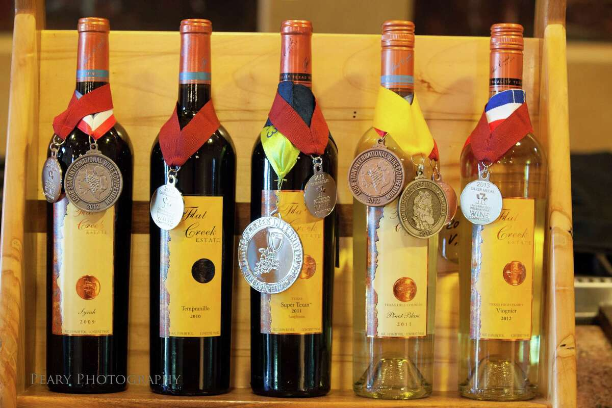 Flat Creek Estate Syrah, Tempranillo, Super Texan, Pinot Blanc, Viognier