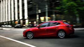 The all-new 2014 Mazda3 compact has built solid street cred for value, fuel frugalness and nimble handling.