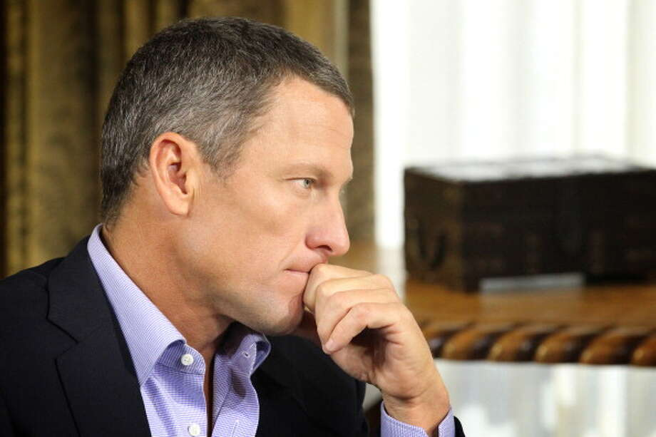 It's Lance Armstrong. Photo: Handout, Getty Images / 2013 Harpo,Inc