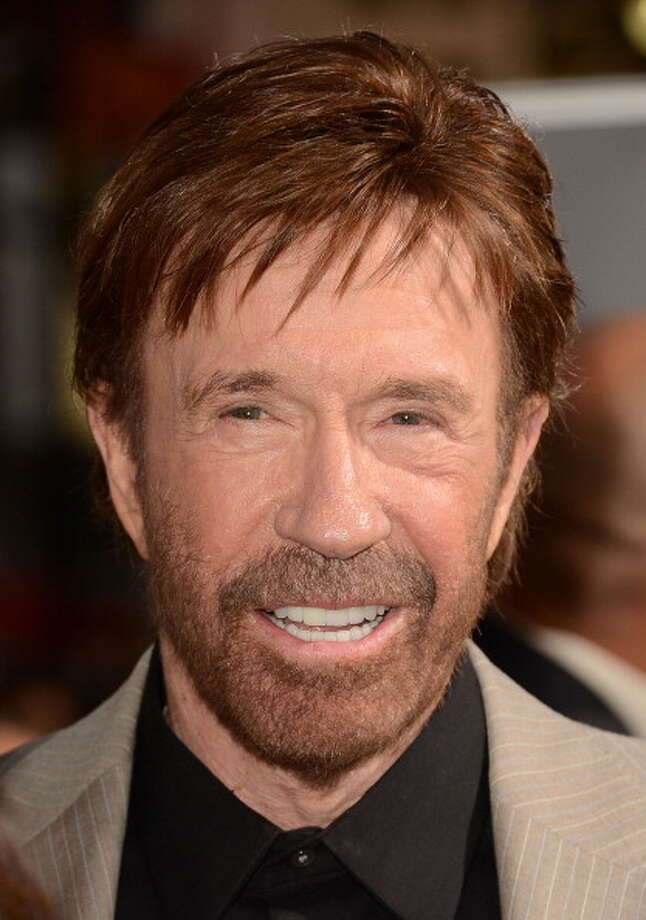 It's Chuck Norris. Photo: Jason Merritt, Getty Images / 2012 Getty Images