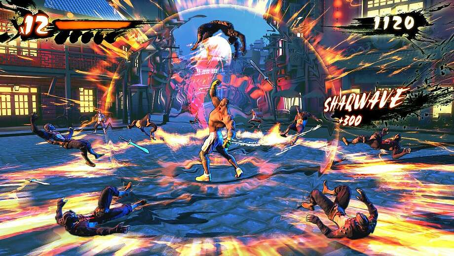 """Shaq Fu: A Legend Reborn"" will be a beat-'em-up game featuring Shaquille O'Neal taking on hordes of enemies with hundreds of different moves. Photo: Associated Press"