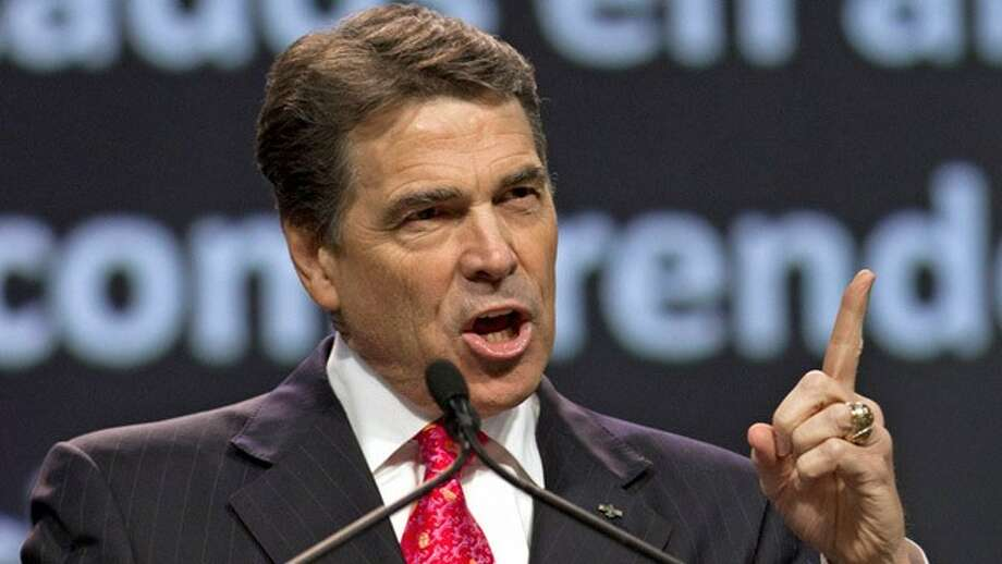 Gov. Rick Perry will meet with business leaders in New York (The Associated Press).