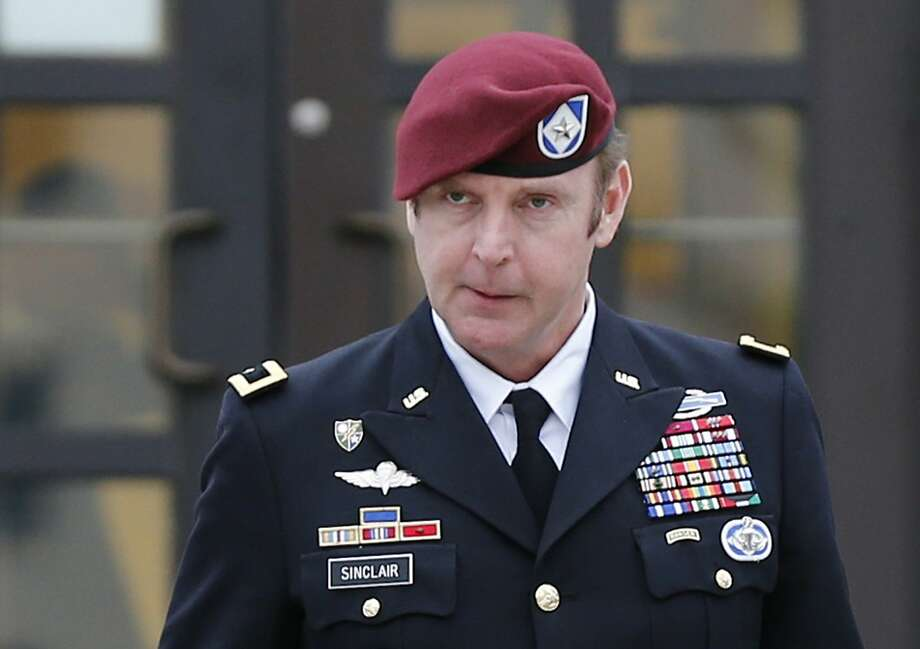 Brig. Gen. Jeffrey Sinclair is thought to be the highest-ranking U.S. military officer ever court-martialed on sexual assault charges. He denies the claims. Photo: Ellen Ozier, Reuters
