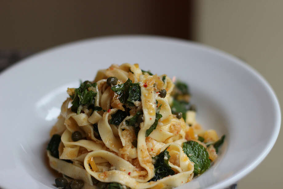 A pasta dish at Il Corvo -- you know, in case you weren't excited enough for a new location. Photo: Flickr Commons