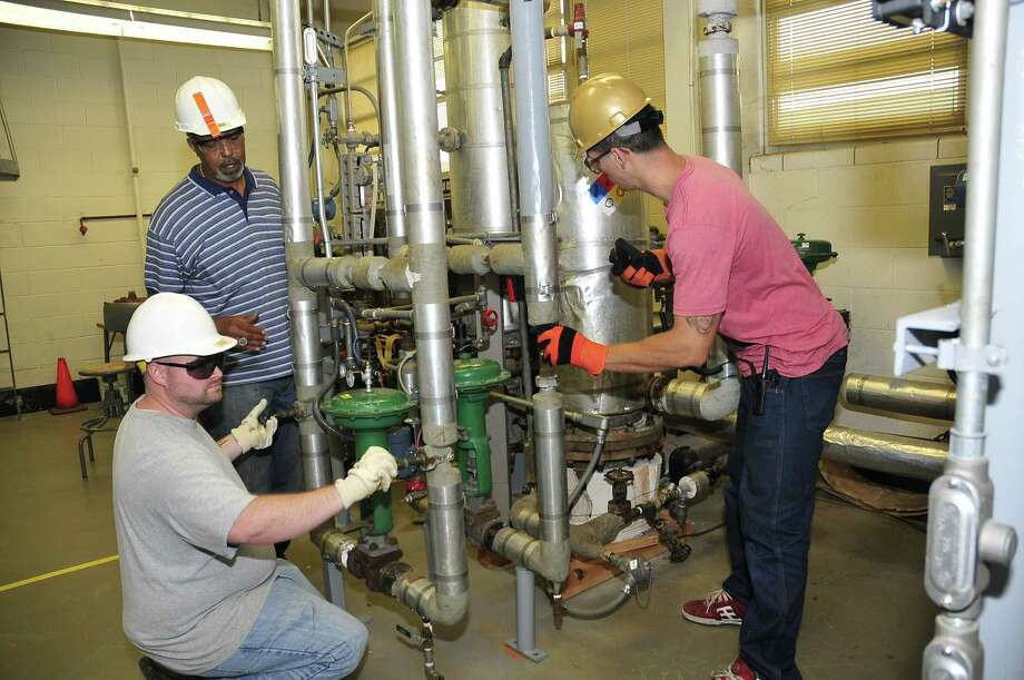 Students can learn process technology at San Jacinto College.