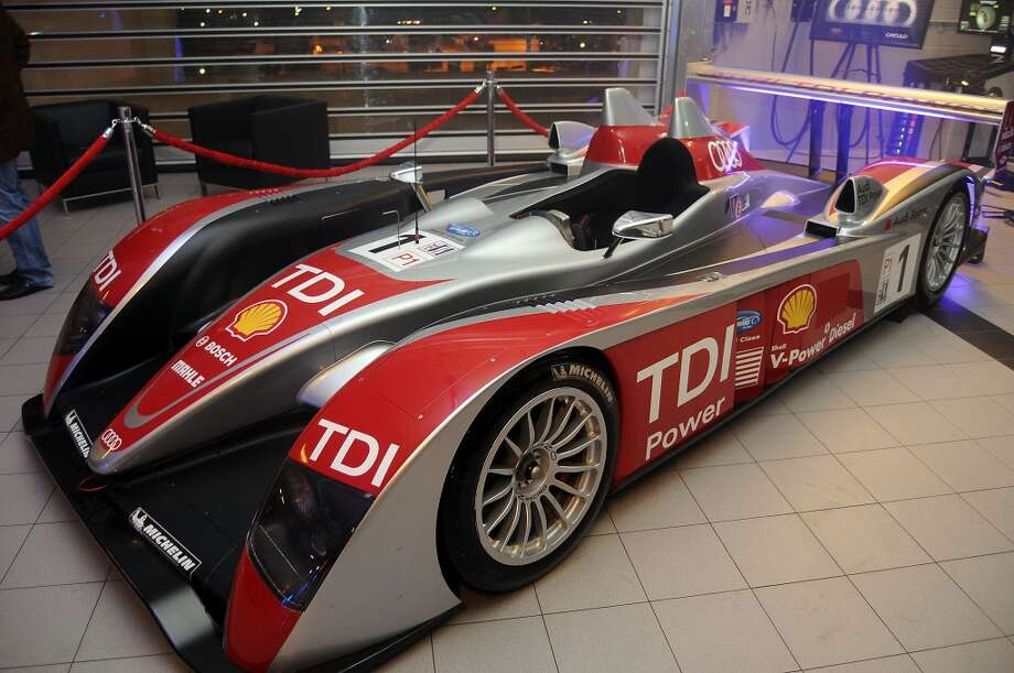 The Audi R10 race car (Photo by Dave Rossman/For the Chronicle) Photo: Dave Rossman, For The Houston Chronicle