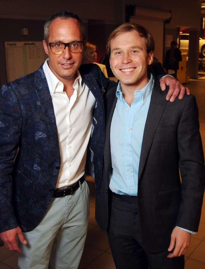 Mark Sullivan and Pierce Bush (Photo by Dave Rossman/For the Chronicle) Photo: Dave Rossman, For The Houston Chronicle