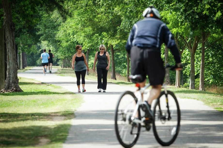 Whether you're on two feet or two wheels, Terry Hershey Park Hike and Bike Trail is a favorite spot among Houstonians. Photo: Michael Paulsen, Staff / © 2013 Houston Chronicle