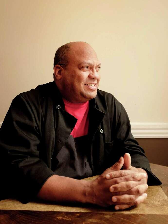 Chef Mark Latigue is seen at El Gallo Rojo restaurant, Monday, March 3, 2014 in Houston, Texas.  TODD SPOTH, 2014 Photo: TODD SPOTH, Photographer / © TODD SPOTH, 2014