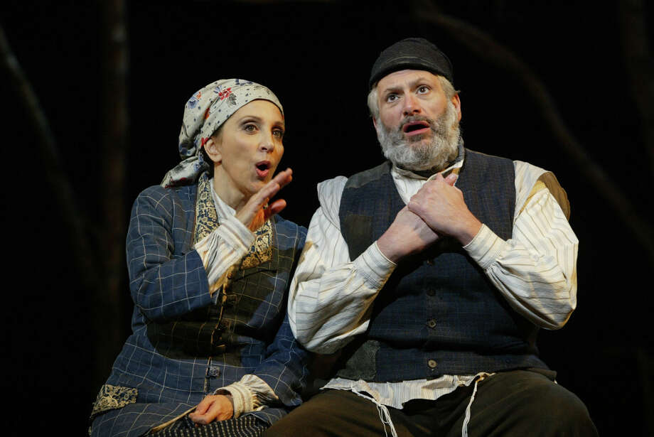 "Andrea Martin and Harvey Fierstein starred in the 2004 revival of  ""Fiddler on the Roof,'' at Broadway's Minskoff Theatre. Photo: Carol Rosegg, HOEP / Barlow-Hartman"