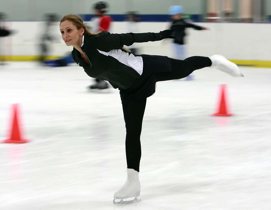 Ice skating is just one of several activities activities at  The Ice & Golf Center at Northwoods. Photo: Express-News File Photo / San Antonio Express-News
