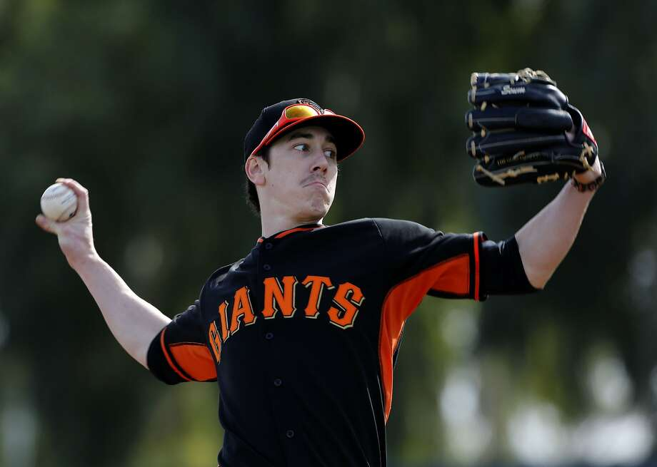 The Giants were able to sign Tim Lincecum and many others to multi-year deals because of baseball's lack of a salary cap. Photo: Michael Macor, The Chronicle