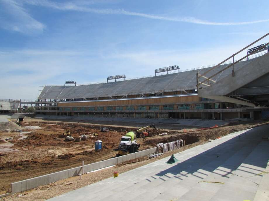 The Cougars' 40,000-seat stadium opens Aug. 30 against UTSA. Photo: Joseph Duarte, Houston Chronicle