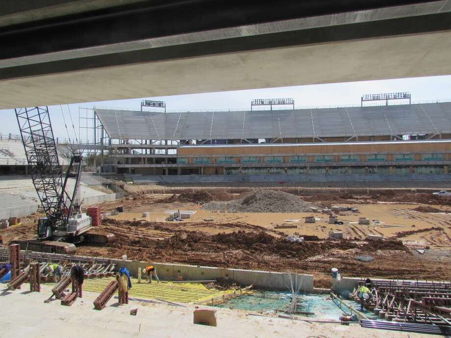 View from the north side concourse. Photo: Joseph Duarte, Houston Chronicle