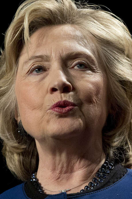 Hillary Clinton marked International Women's Day. / AP