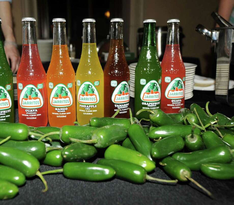 Jarritos soda pop during the Greenwich Hospital annual Great Chefs fundraiser at the Westchester Country Club in Rye, N.Y., Friday night, March 7, 2014. Photo: Bob Luckey / Greenwich Time