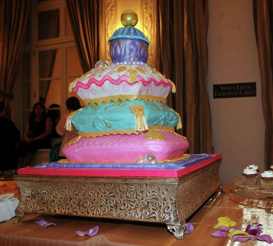 An Arabian Nights themed-cake by Sweet Lisa's Exquisite Cakes of Greenwich during the Greenwich Hospital annual Great Chefs fundraiser at the Westchester Country Club in Rye, N.Y., Friday night, March 7, 2014. Photo: Bob Luckey / Greenwich Time