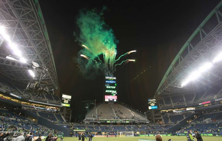 You know you're a Sounders fan if ...... you don't know where the Seahawks play their home games. Photo: Sofia Jaramillo, Seattlepi.com