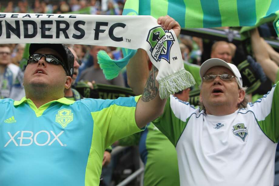 """You know you're a Sounders fan if ...... you insist """"FC"""" must be part of any reference to the team. Photo: Sofia Jaramillo, Seattlepi.com"""