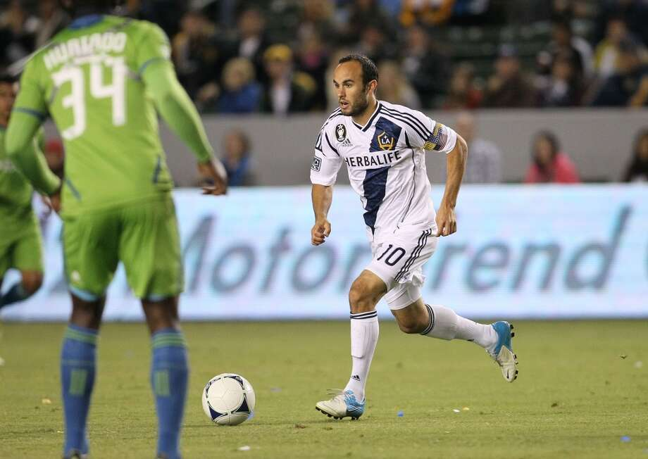 You know you're a Sounders fan if ...  ... you don't root for Landon Donovan, even when he's playing on the U.S. National Team. Photo: Victor Decolongon, Getty Images