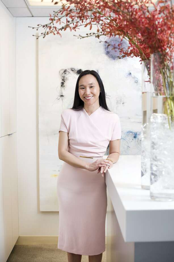 Plastic surgeon Dr. Carolyn Chang has partnered with Juice Beauty on a new product for the delicate skin around the eyes. Stem Cellular Instant Eye Lift is free of fragrance, dye, paraben and petroleum. Photo: Michael Short, The Chronicle