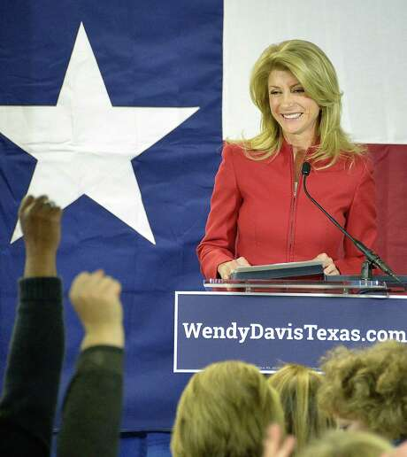 Democratic gubernatorial candidate Wendy Davis has released a list of her public-sector legal clients. Photo: Max Faulkner / Fort Worth Star-Telegram / Fort Worth Star-Telegram
