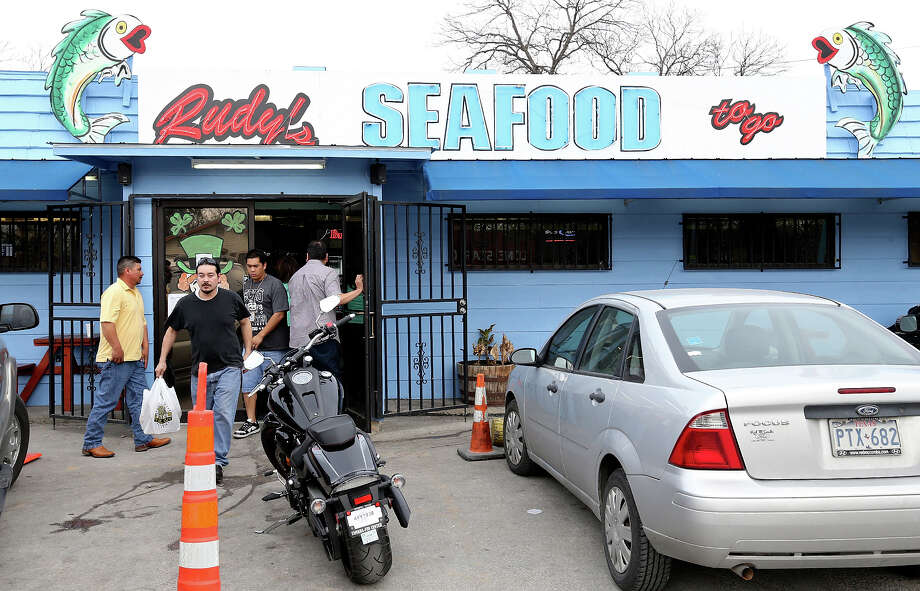 If he comes for Lent, he could enjoy some of the fine fish at Rudy's Seafood, a Lenten favorite. Photo: San Antonio Express-News / © 2014 San Antonio Express-News