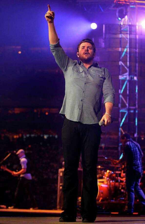 Chris Young performs at RodeoHouston on March 10. Photo: Mayra Beltran, Houston Chronicle / © 2012 Houston Chronicle