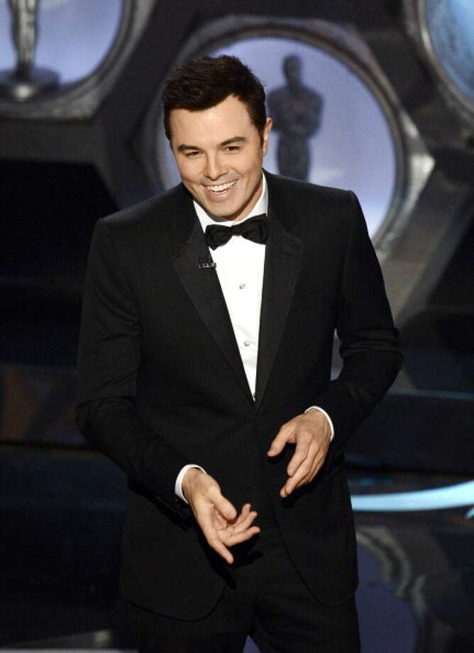 HOLLYWOOD, CA - FEBRUARY 24:  Host Seth MacFarlane speaks onstage during the Oscars held at the Dolby Theatre on February 24, 2013 in Hollywood, California.  (Photo by Kevin Winter/Getty Images) Photo: Kevin Winter, Getty Images / 2013 Getty Images