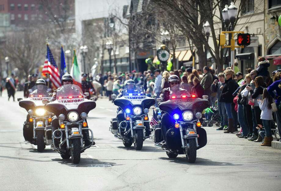 The 19th annual St. Patrick's Day parade in Stamford, Conn., on Saturday, March 8, 2014. Photo: Lindsay Perry / Stamford Advocate