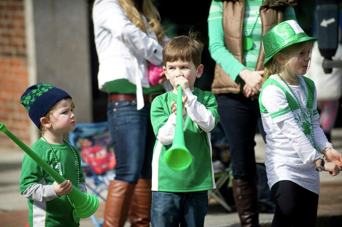 The 19th annual St. Patrick's Day parade in Stamford, Conn., on Saturday, March 8, 2014.