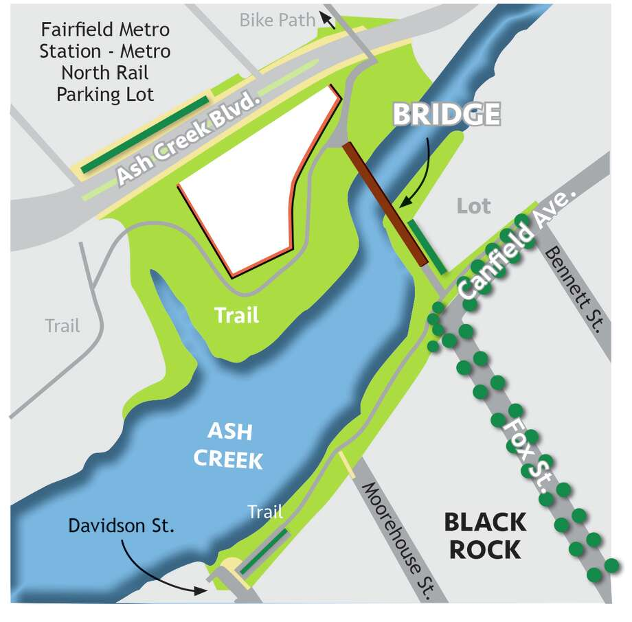 Ash Creek map Photo: E Fitz Smith, Connecticut Post / Connecticut Post