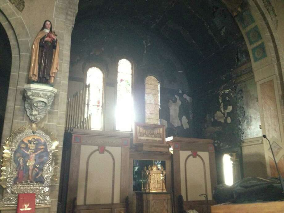 Schenectadys St Anthonys Vows To Rebuild After Fire Times Union