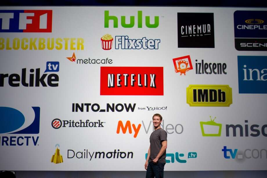 Mark Zuckerberg, chief executive officer and founder of Facebook Inc., speaks at Facebook's F8 developers conference in San Francisco, California, U.S., on Thursday, Sept. 22, 2011. Zuckerberg unveiled new features that will let users share music, moviesand TV shows through the social network's website. Photo: David Paul Morris, Bloomberg/2011