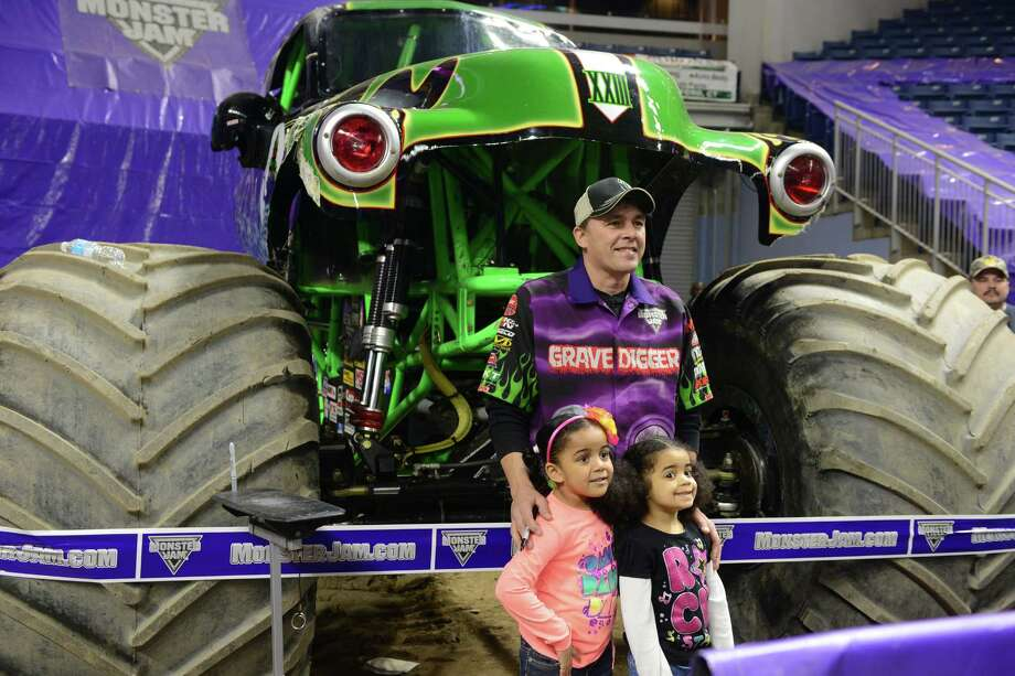 The Monster Jam pit party takes place Saturday, Mar. 8, 2014, at the Webster Bank Arena in Bridgeport, Conn. The last show is Sunday, March 9 at 2 p.m. proceeded by the pit party at 11 a.m. Photo: Autumn Driscoll / Connecticut Post