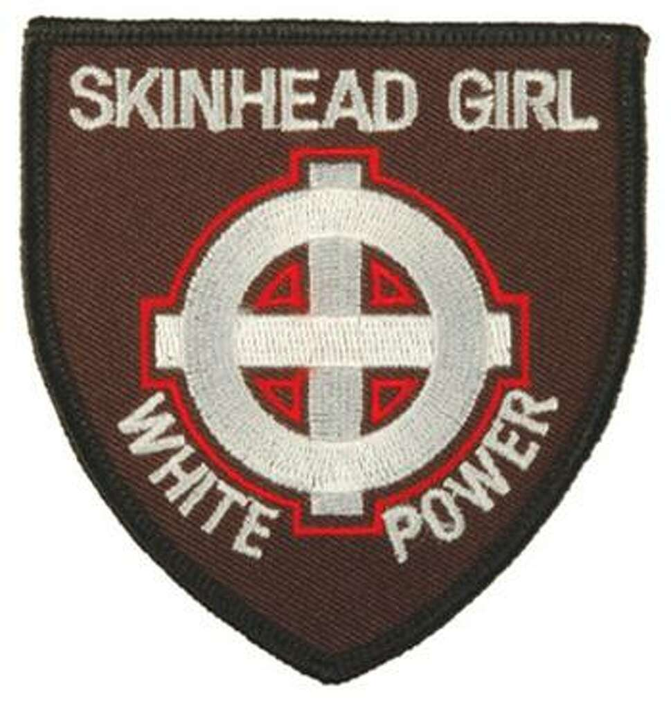 National inventory of hate groups ranks texas near top with 8 in patch often worn by female racist skinheads or skinbyrds photo courtesy of biocorpaavc Images