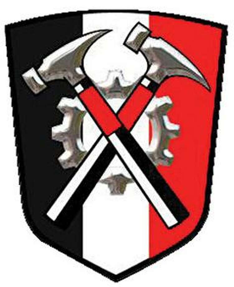 Logo of the Hammerskin Nation alliance of skinhead groups (Photo courtesy of the Southern Poverty Law Center)